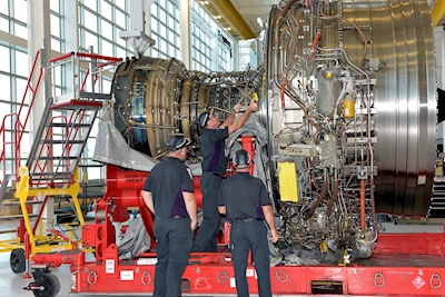 Virgin Atlantic's Trent 1000 engine first to be inducted into new Delta TechOps engine shop