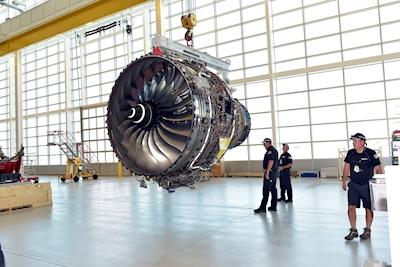 New Delta TechOps engine shop restores Virgin Atlantic's Rolls-Royce Trent 1000 engine to service
