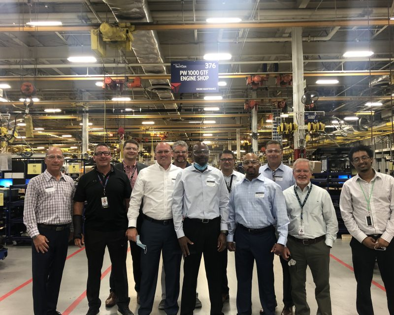 Delta TechOps Services Group Celebrates Pratt & Whitney Founding
